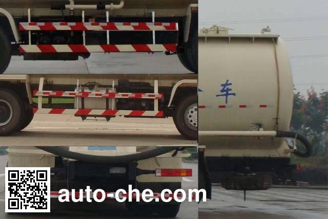Shacman SX5310GFL4B466 low-density bulk powder transport tank truck