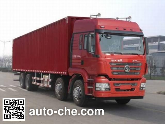 陕汽牌SX5310XXYMP4厢式运输车