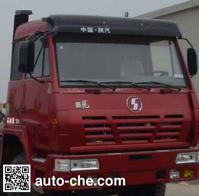 陕汽牌SX5315GFLTN456罐式粉粒运输车