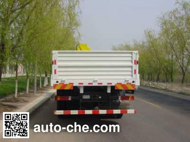 Shacman SX5315JSQNR456 truck mounted loader crane