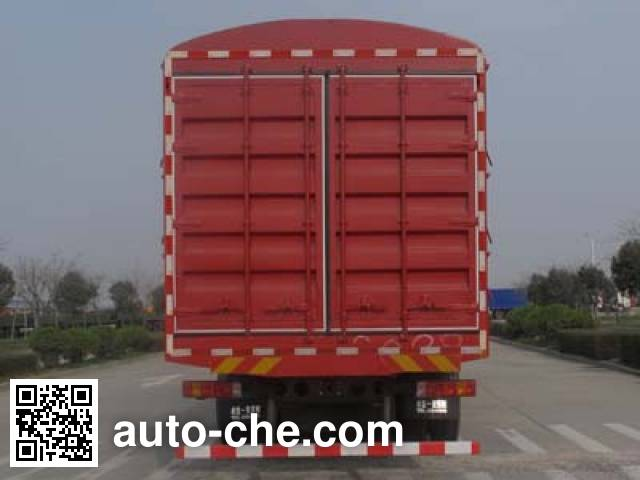 陕汽牌SX5316CCQNM456畜禽运输车