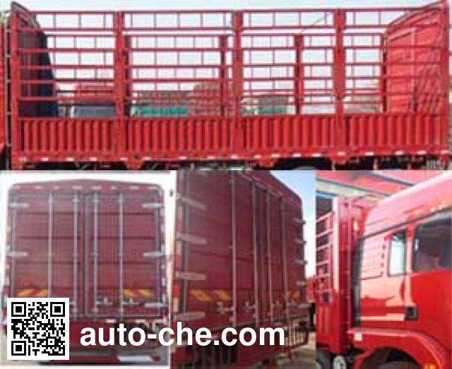 陕汽牌SX5316CCYGN456仓栅式运输车