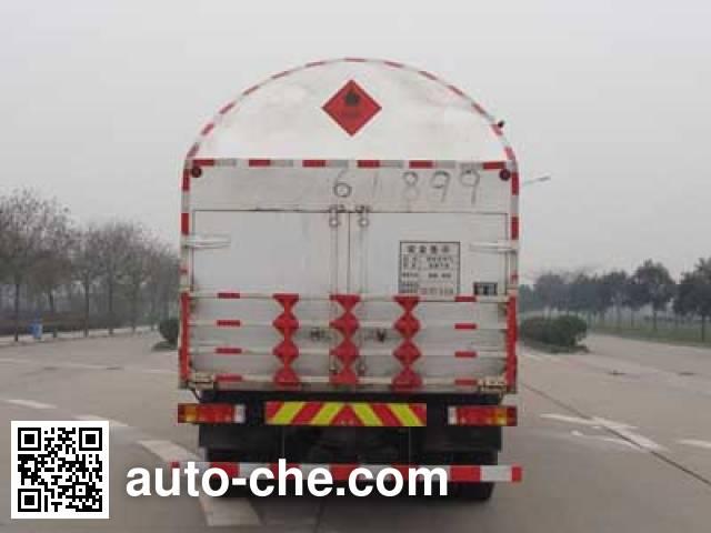 Shacman SX5316GDYT cryogenic liquid tank truck