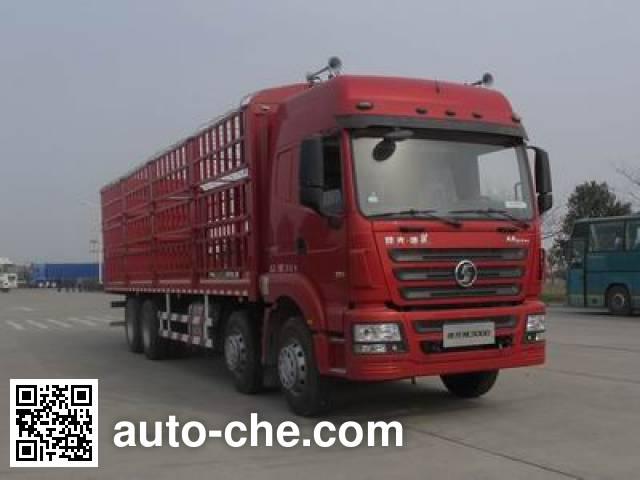 陕汽牌SX5317CCQGL456畜禽运输车