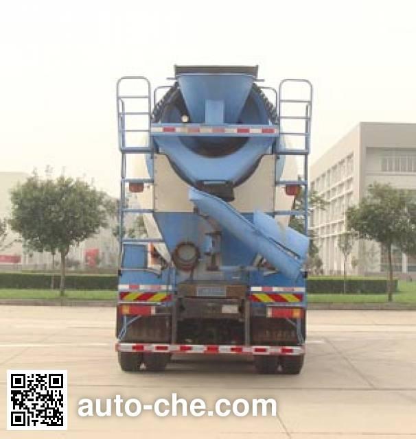 陕汽牌SX5318GJBDT366TL混凝土搅拌运输车