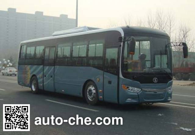 Shacman SX6100GBEVS electric city bus