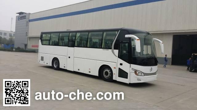 Shacman SX6110BEV electric highway coach bus