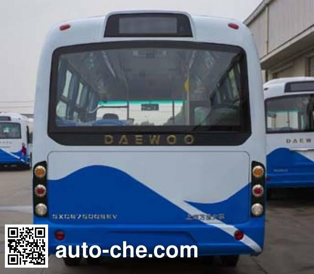 象牌SXC6750GBEV纯电动城市客车