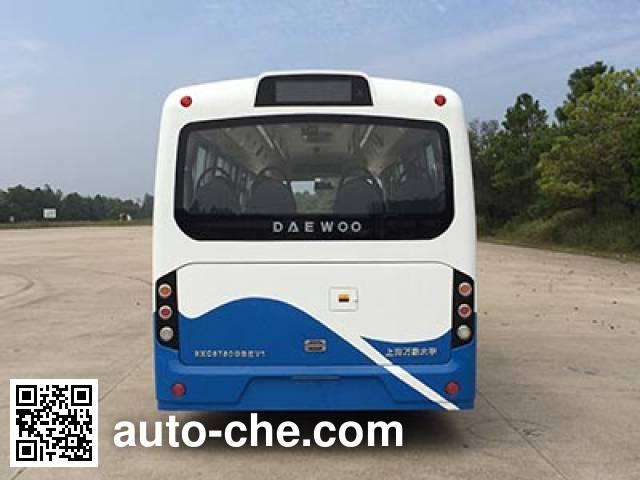 象牌SXC6750GBEV1纯电动城市客车