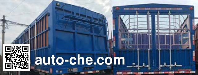 Shacman SXD9400CCY stake trailer