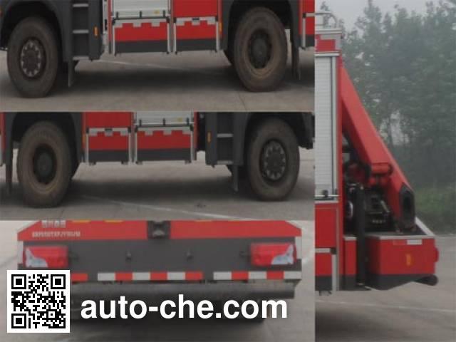 川消牌SXF5130TXFJY180/M抢险救援消防车