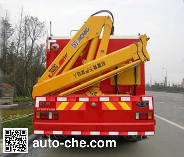 川消牌SXF5130TXFJY96W抢险救援消防车