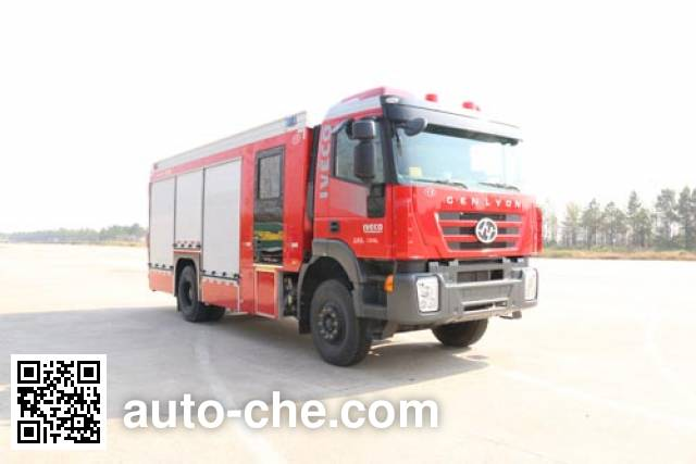 Chuanxiao SXF5130TXFQC236 apparatus fire fighting vehicle