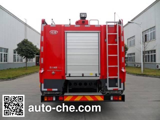 川消牌SXF5160GXFPM60/W泡沫消防车