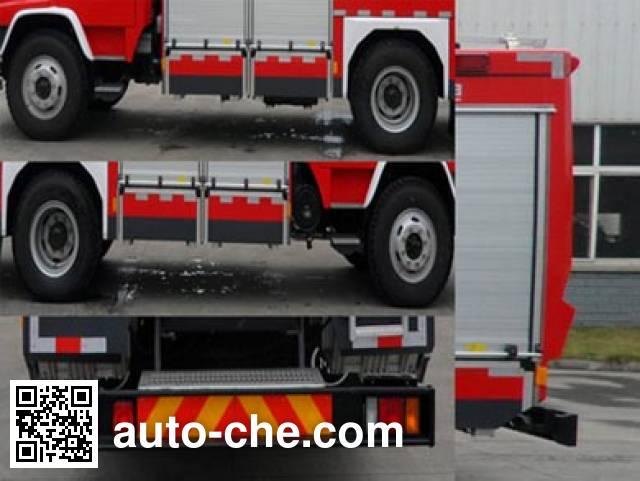 Chuanxiao SXF5160GXFPM60/W foam fire engine