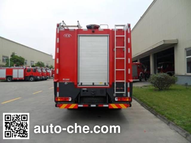 川消牌SXF5170GXFPM40/IV泡沫消防车