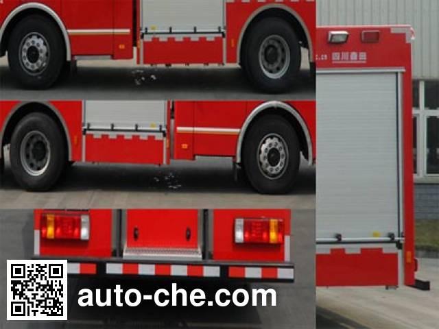 川消牌SXF5190GXFPM50/CA泡沫消防车