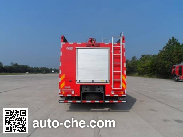 川消牌SXF5200GXFPM80/HW泡沫消防车