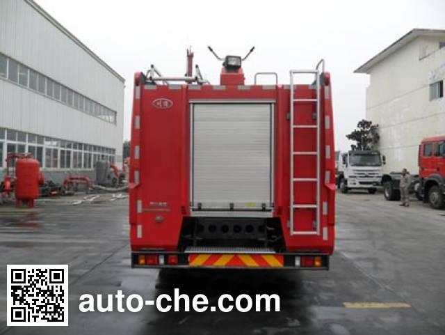 川消牌SXF5230GXFPM100泡沫消防车