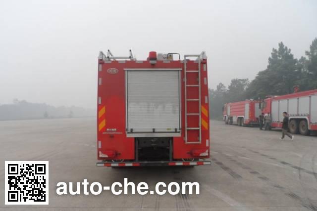 川消牌SXF5270GXFPM120/S泡沫消防车