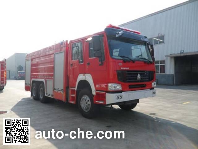 川消牌SXF5270GXFPM120/HW泡沫消防车