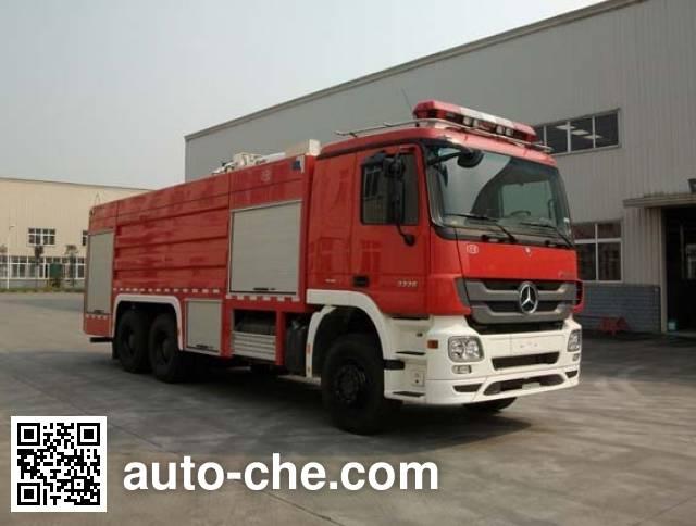 川消牌SXF5280GXFPM120B泡沫消防车