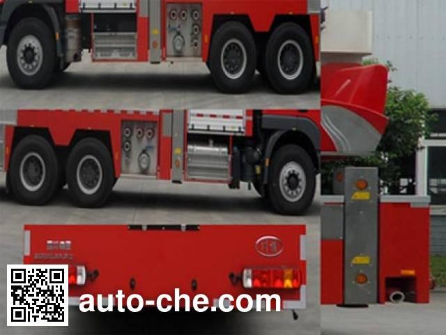Chuanxiao SXF5310JXFJP32 high lift pump fire engine