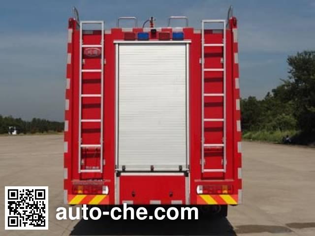 川消牌SXF5320GXFPM160/HW1泡沫消防车