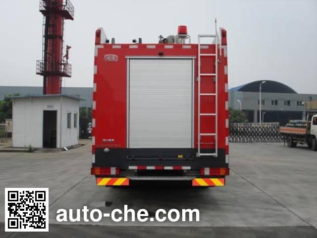 Chuanxiao SXF5380GXFSG180/B fire tank truck