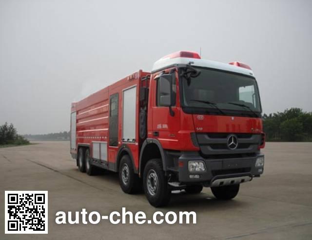 川消牌SXF5380GXFPM180/B泡沫消防车