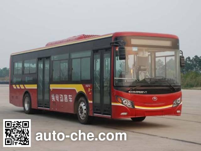 山西牌SXK6107GBEV2纯电动城市客车