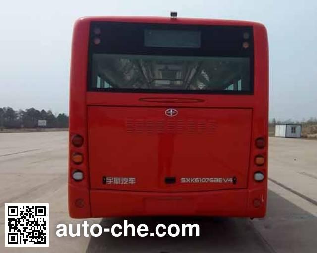 Shanxi SXK6107GBEV4 electric city bus