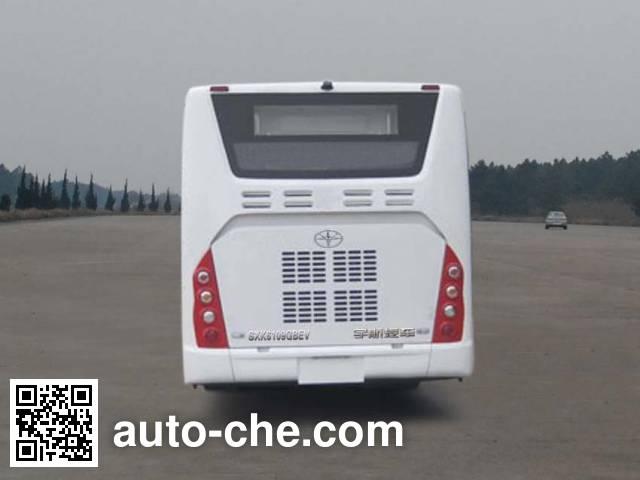 Shanxi SXK6109GBEV electric city bus