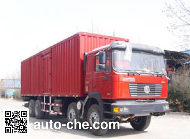 Zhuoli - Kelaonai SXL5310XXY box van truck