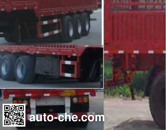 Zhuoli - Kelaonai SXL9382CCY stake trailer