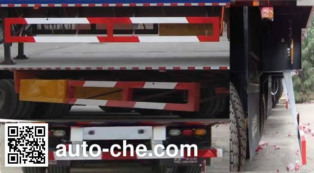 卓里-克劳耐牌SXL9405XXY厢式运输半挂车