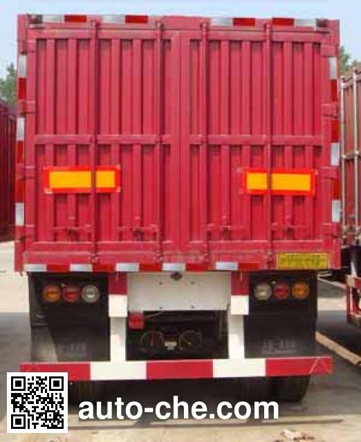 卓里-克劳耐牌SXL9406XXY厢式运输半挂车