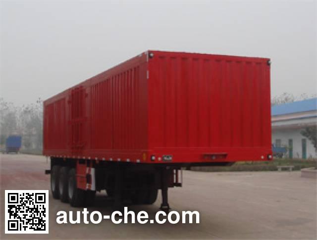 卓里-克劳耐牌SXL9407XXY厢式运输半挂车