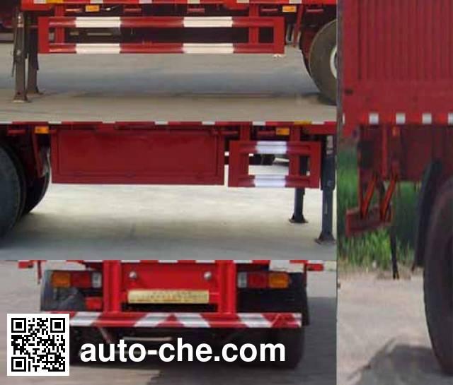 Zhuoli - Kelaonai SXL9407XXY box body van trailer
