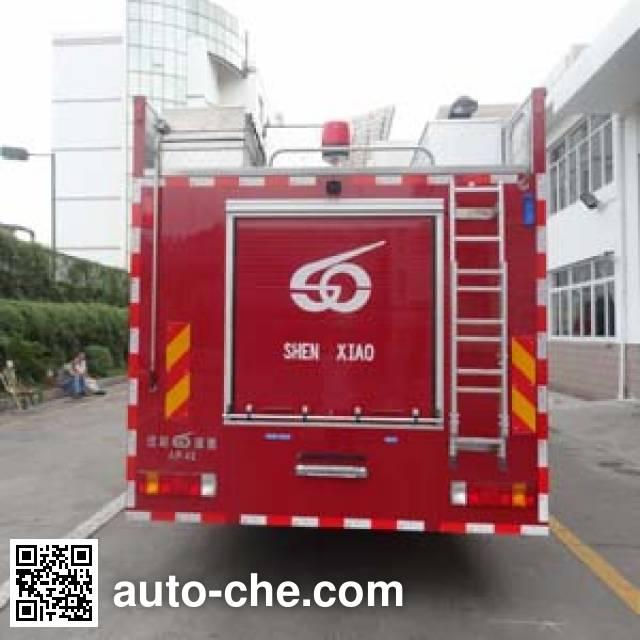 Jinhou SXT5180GXFAP42 class A foam fire engine