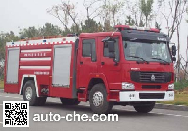 金猴牌SXT5190GXFPM75泡沫消防车