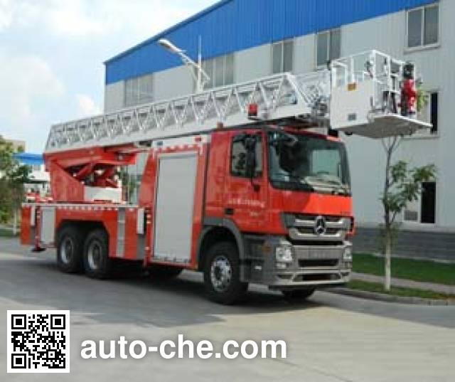 金猴牌SXT5241JXFYT40云梯消防车