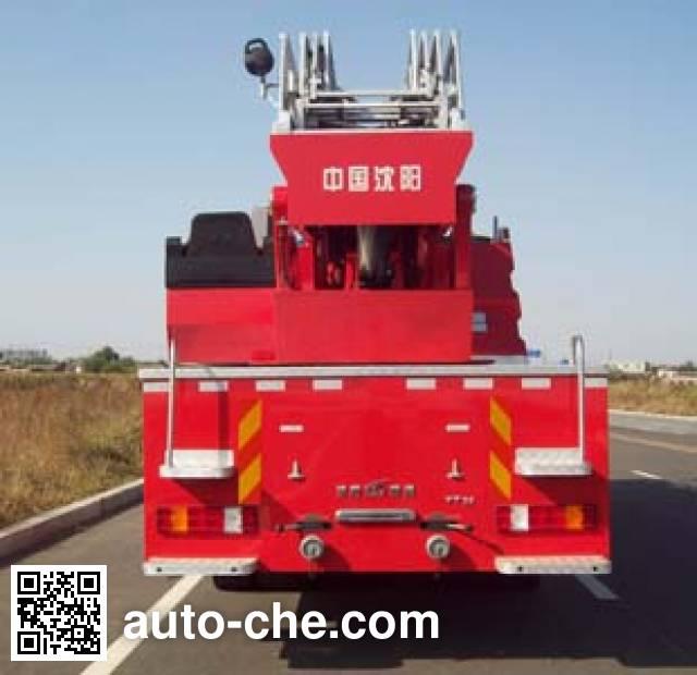 金猴牌SXT5290JXFYT32云梯消防车