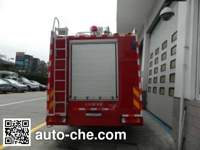 金猴牌SXT5291GXFPM130泡沫消防车