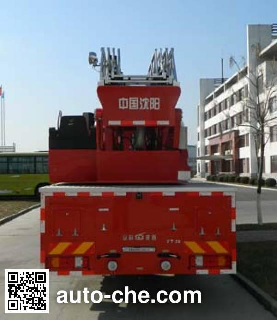 金猴牌SXT5310JXFYT32云梯消防车