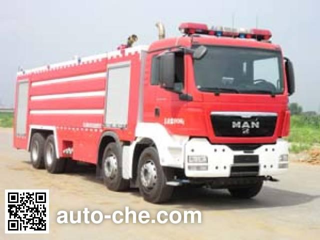 Jinhou SXT5390GXFSG210 fire tank truck