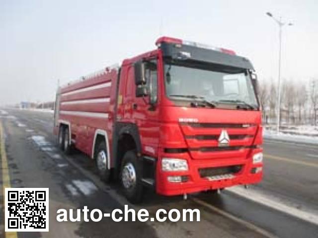 金猴牌SXT5430GXFPM250泡沫消防车