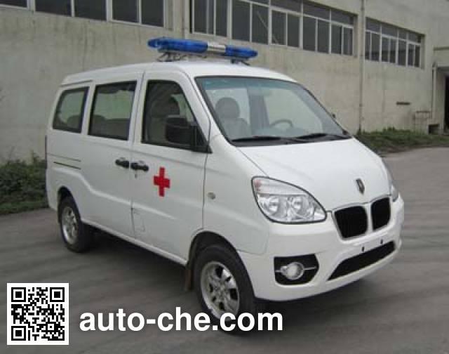 Jinbei SY5020XJH-A9SBW ambulance