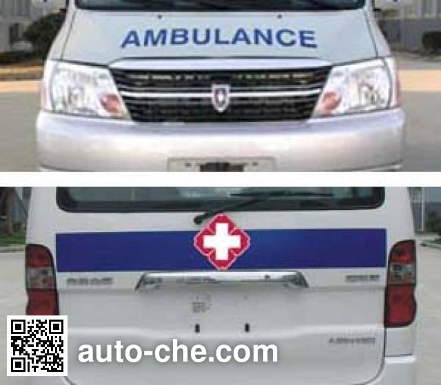 Jinbei SY5031XJHJ-GSBG monitoring-type ambulance