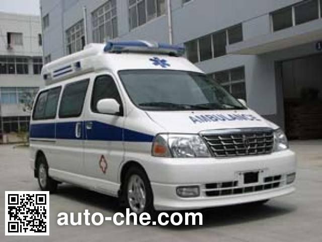 金杯牌SY5031XJHJ-MSBG监护型救护车